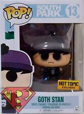 "GOTH STAN South Park Pop Television 4"" Vinyl Figure #13 Hot Topic Funko 2017"