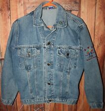Made in USA Mens Size S Olympic/Harley Davidson Denim Jacket