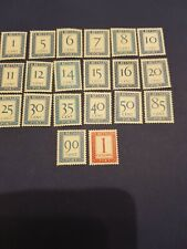 Collection of 1947-56 Netherlands Postage Due Stamps MNH