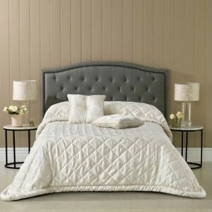 Bianca Arabella Ivory Bedspread Coverlet Double, Queen, King Sizes