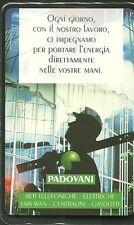 SCHEDA ITALIA NUOVA 5000 PRIVATE RESE PUBBLICHE PADOVANI  GOLDEN n. 342