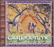 GIULIODORME solida euforia CD 2002 Sony FUORI CATALOGO