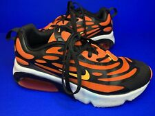 Nike Air Max Exosense Trainers Running Shoes Rare Tiger Orange Black Size 4 Uk