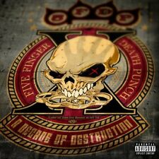 FIVE FINGER DEATH PUNCH CD - A DECADE OF DESTRUCTION (2017) - NEW UNOPENED