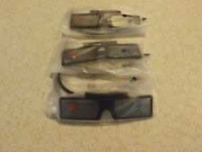 Samsung 3D Glasses #SSG-4100GB -  3 Pairs-   3D Glasses with Batteries
