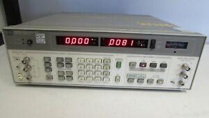 HP Agilent 8903B Audio Analyzer, 20 Hz to 100 kHz, opt 013, 055