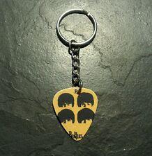 Beatles Guitar Pick Key Chain Ring Music Collectible Memorabilia Gift Present