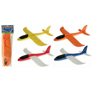 Flugzeug Styropor 48 cm Wurfgleiter Spielzeug Flieger Styroporflugzeug