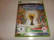 XBox 360  FIFA Fussball Weltmeisterschaft 2010 Südafrika