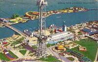 Chicago IL - Chicago World's Fair - 1933 Century of Progress Exposition BIRDSEYE
