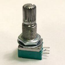 LOT OF 1000 Linear Taper (B1M) Side Mount Knurled Potentiometer Pot
