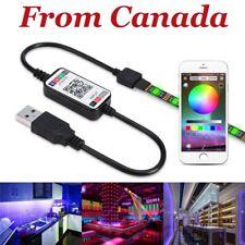 WiFi Bluetooth LED/RGB Remote Controller Light Strip Phone App USB DC 2.1 Female