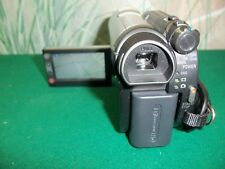 Sony DCR-DVD610 Camcorder -  Black/Silver w/ac adapter