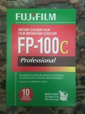 Fujifilm FP-100c (Expired 2018-08) Polaroid Film, x 1 Box (10 Exp)