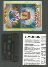 E-Motion-US GOLD-en Caja Original COMMODORE 64 C64 Cassette Juego-Probado