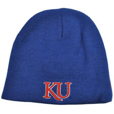 NCAA Zephyr Reversible Women Kid Knit Beanie Nordic Toque Hat Kansas Jayhawks KU
