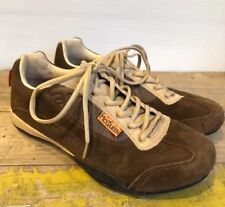 """a3acbb941b565 Hunziker """"Mini"""" Casual Driving Shoes Size 9 Steve McQueen Brown Suede  Leather"""