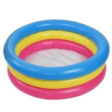 3 Anello piccola PISCINA PER BAMBINI KIDS PER BAMBINI GONFIABILE per il nuoto gioco da giardino