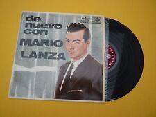 Mario Lanza de nuevo con  (VG+/EX++) 1963 RCA Spain edit  LP ç
