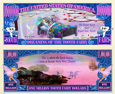 Tooth Fairy Million Dollar Bill Collectible Fake Play Funny Money Novelty Note