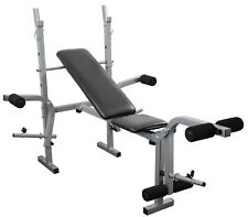 Adjustable Weight Bench Leg & Chest Flys Workout Folding Training Bench