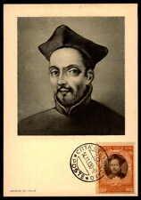 Vatican MK 1950 Concilio Trento Concile maximum carta carte MAXIMUM CARD MC cm dc50
