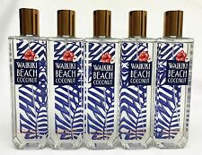 5 Bath Body Works WAIKIKI BEACH COCONUT Fine Fragrance Mist Spray