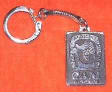 porte-clé Keychain Crédit agricole mutuel CAM GIRONDE Cours de Verdun Bordeaux