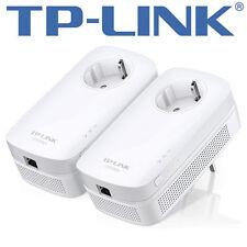 TP-LINK TL-PA8010P KIT  AV1200GigabitPassthrough PowerlineStarter Kit - NEU