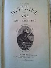 P.J. Stahl, Histoire d'un âne et de 2 jeunes filles Hetzel