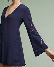 6610d65e620 Anthropologie (ASTR) Genevieve Embroidered Romper (L) NWT -  138.00