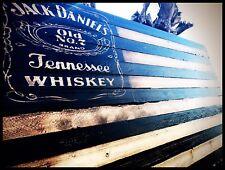 JACK DANIELS Rustic Wooden  Flag