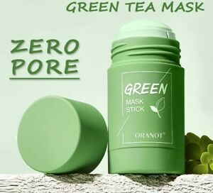 Cleansing Green Tea Purifying Clay Stick Mask Oil Control Anti-acne Skin Care
