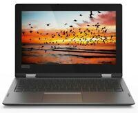 "Lenovo Flex11 Touchscreen 2-in-1 11"" Laptop Intel 2.60GHz 64GB SSD 4GB RAM Win10"