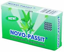 NOVO-PASSIT 30 tab. Herbal Sedative, Relax, Stress Relief, Difficulty Sleeping