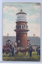"Postcard of ""Light House, Gay Head"" Martha's Vineyard, MA."