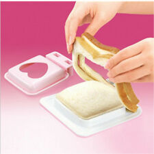 New Love Heart Shaped Sandwich Maker Cutter Bread Toast Making Mold Mould Mold