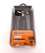 ToughTested ProCharger 12 ft Apple Cell Phone Quick Charger Cord 30 Pin 12 Volt