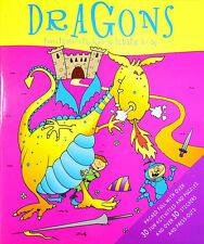 DRAGONS ~ Funtime sticker activity book ~ Over 30 Stickers ~ Party Bag filler