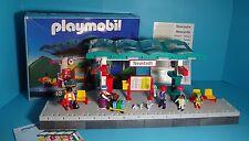 Playmobil RC Eisenbahn/Train~Bahnsteig,Haltepunkt/Train Platform,Station(4382)