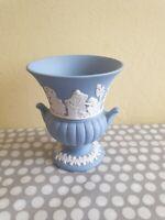 Wedgwood Pale Blue Jasperware Small Grecian Urn