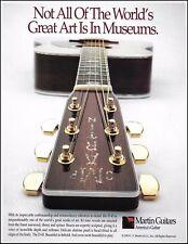 The Martin D-45 acoustic guitar 1993 ad 8 x 11 advertisement print