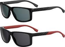 Hugo Boss Polarized Men's Square Classic Sunglasses - B0879S - Made in Italy