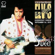 Elvis Presley - NOT TOO SWEET - CD - New Original Mint