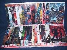 The New Avengers #1 - #33 (2013) Nm Marvel Now with Bag and Board Complete Set