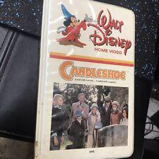 DISNEY VHS CANDLESHOE BOG CLAMSHELL