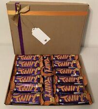14 X Cadbury Twirl Orange Limited Edition Hamper RARE SPECIAL XMAS Birthday ..