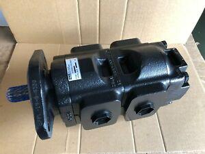Genuine NEW Parker/JCB Twin hydraulic pump 20/925581  37+ 33cc/rev. Made in EU