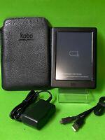 "KOBO GLO HD N437 4GB - Schwarz - ebook ereader eBookreader 6"" +Case schwarz"