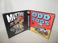 Custom Made Odd Rods Trading Card Album Binder